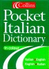 Collins Pocket Italian Dictionary – Italian-English/English-Italian / HarperCollins, 1999