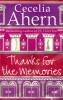 AHERN, CECELIA  : Thanks for the Memories / Harper, 2008