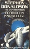 DONALDSON, STEPHEN R. : Forbidden Knowledge / Voyager, 1997