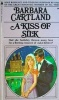 CARTLAND, BARBARA : A Kiss of Silk / Pyramid Books, 1972