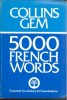 5000 French Words / HarperCollins, 1979