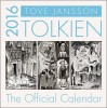 Tolkien Calendar 2016 - Illustrated by Tove Jansson / HarperCollins, 2015
