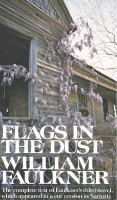 FAULKNER, WILLIAM  : Flags in the Dust / Vintage, 1973