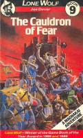 DEVER, JOE : Lone Wolf 9 - The Cauldron of Fear / Beaver, 1987